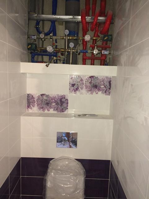 Туалет под ключ с сантехникой в Минске