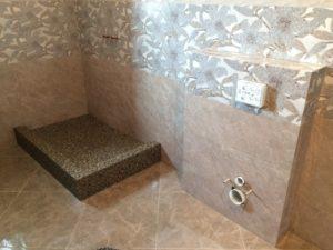 Ванная комната с душевым поддоном своими руками